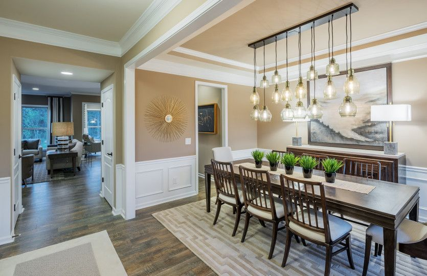 Wingate:Dining Room and Foyer