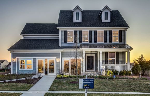Exterior:The Westchester Model Home for Sale