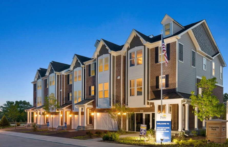 Townhomes in District 203