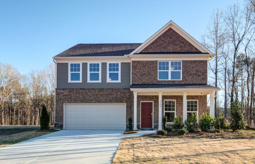 Hampton:Pinebrook's Hampton Model Home