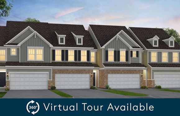 Ashton:Meadow Ridge Townhome Exterior