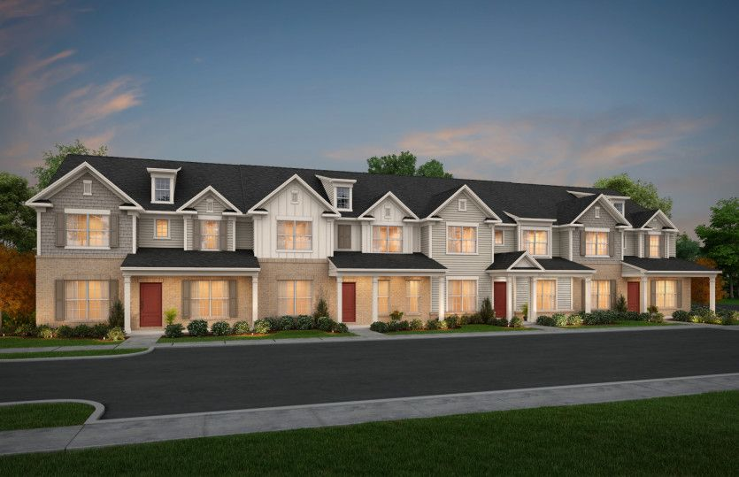 Mason:Everton Townhomes Streetscape