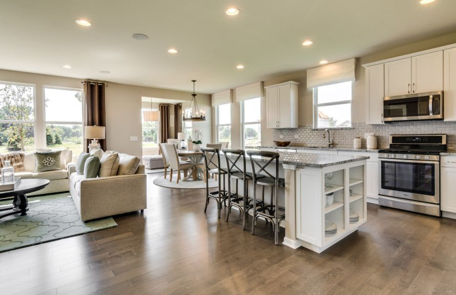 Open Concept Ranch Homes