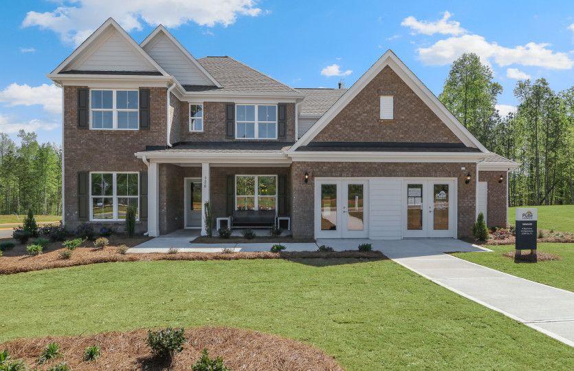 Wingate:Model Home Exterior