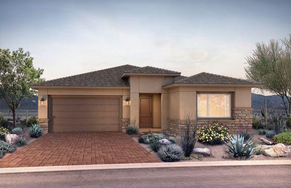 Exterior:New Home Construction in Phoenix - Verona Exterior A