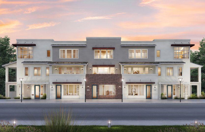 Exterior:5-Plex Live / Work Building 1 Exterior