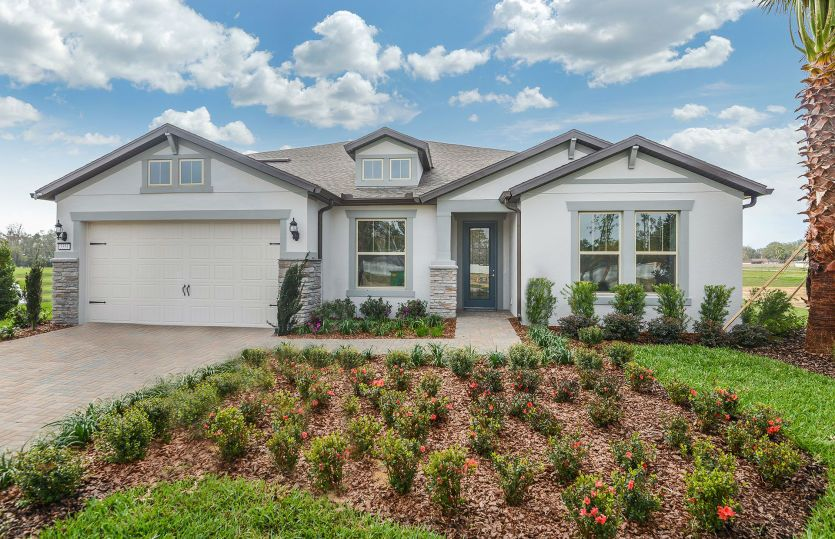 Dockside:New Construction Home For Sale at Retreat at Lake Brantley - Exterior 6 with Loft