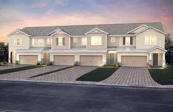 Brookstream:Home Exterior KW2A-B 4-unit