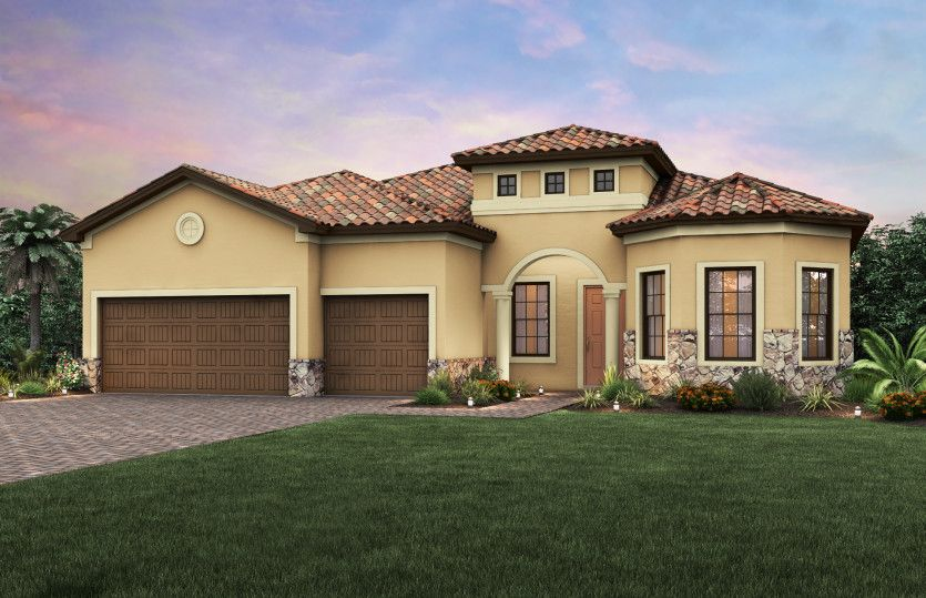 Pinnacle:Exterior FM3A with tile roof