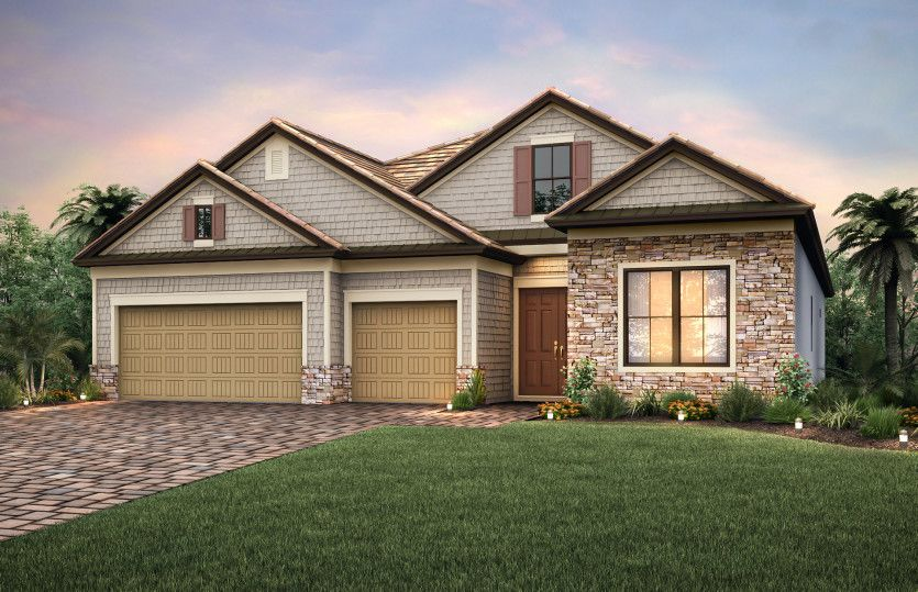Stonewater:Exterior LC3A with stone