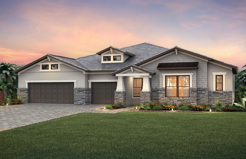 Nobility:Exterior C2B with stone detail