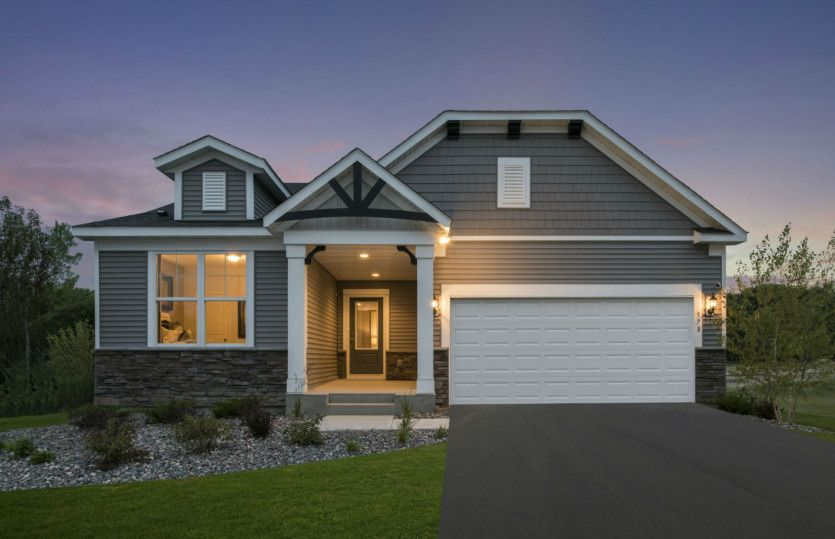 Abbeyville:Brooks Ridge Model | Chaska