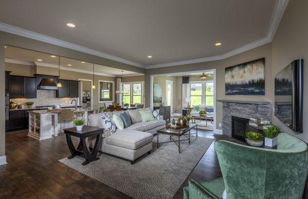 Gatefield -open concept living