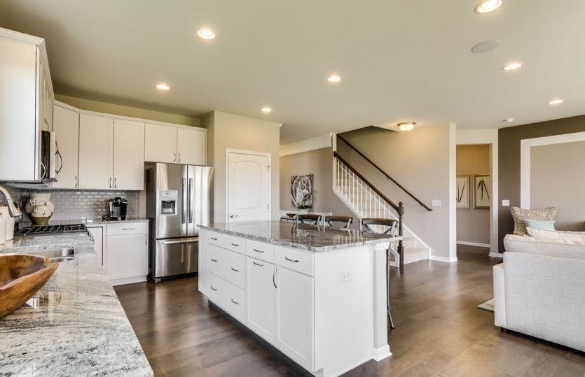 Abbeyville:Kitchen with plenty of cabinet storage