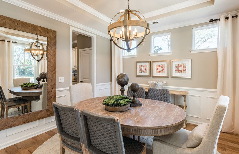 Magnolia:Opt. Tray Ceiling in Dining