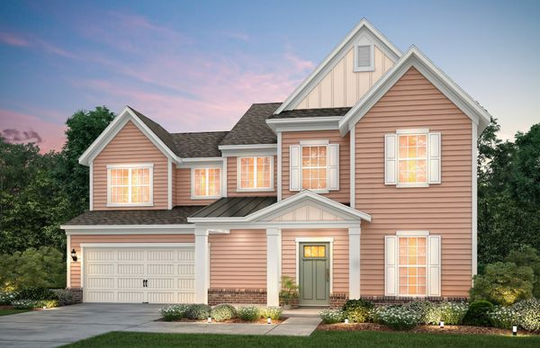 Waterstone:Waterstone, a two story home w/covered front porch with Home Exterior LC3G