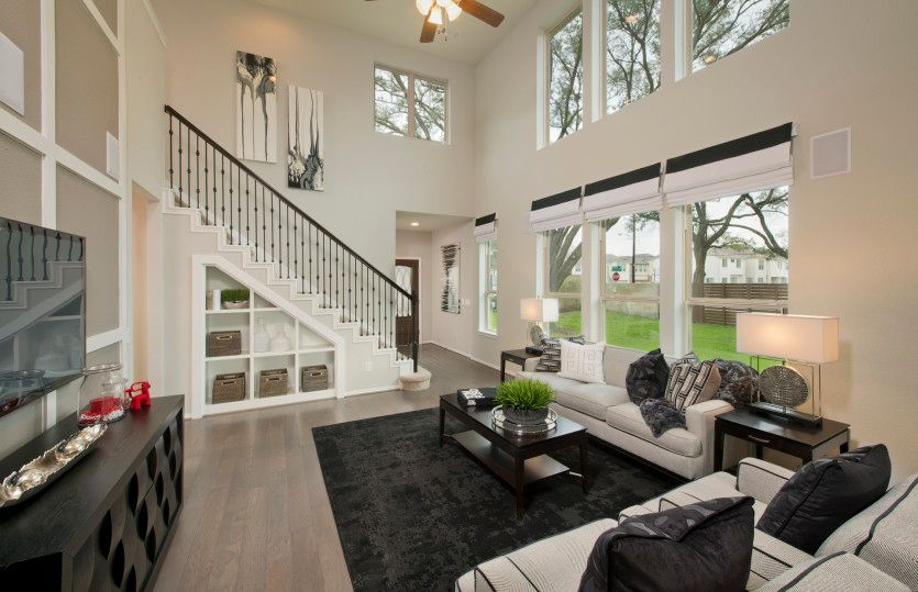 Harrison:Open concept throughout main living areas