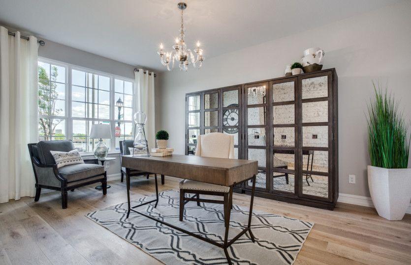 Lexington:Flexible living space or optional study