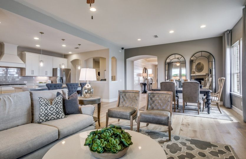 Lexington:This open plan offers the perfect space for entertaining