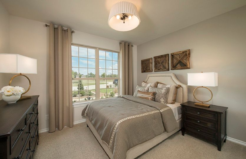 Caldwell:Optional First Floor Secondary Bedroom