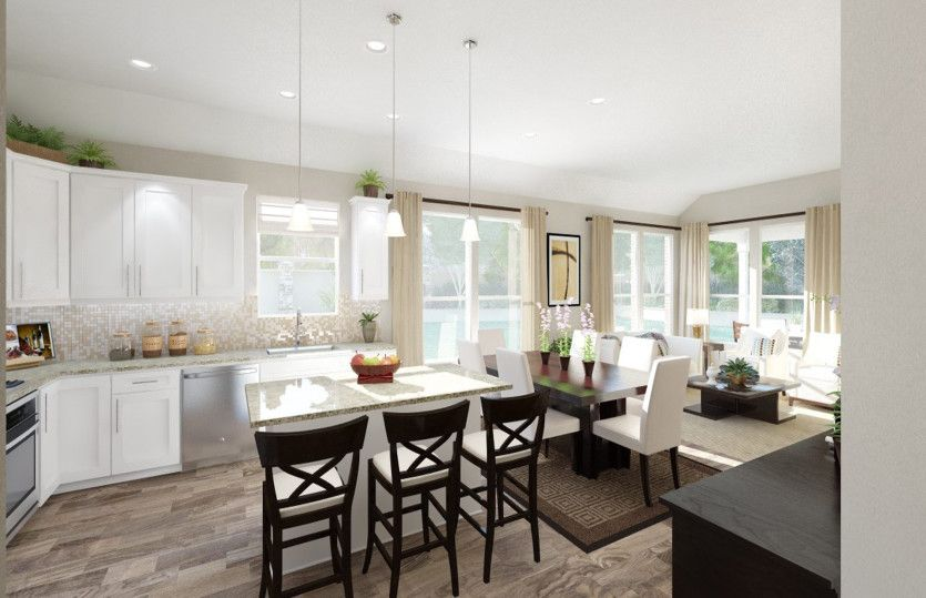 Barrett:Open Living Spaces