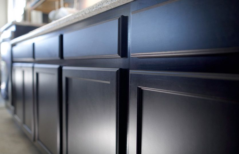 Burnet:Custom cabinetry throughout the home