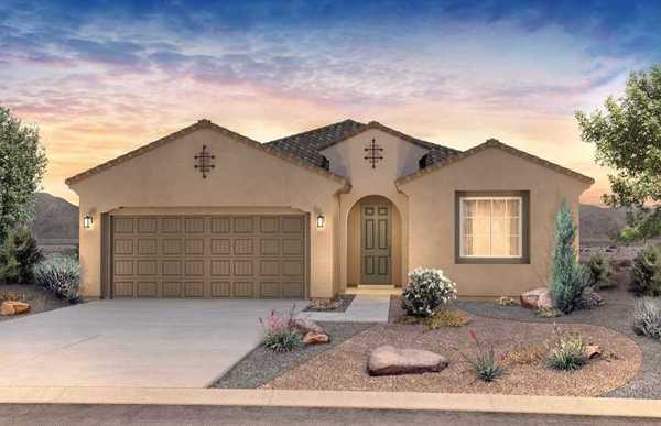 Darden:The Darden is a single-story home design with Life Tested® features such as the Pulte Planning Cente