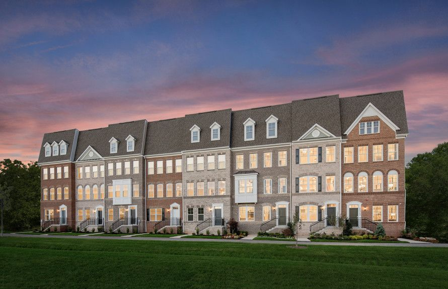 Luxury Townhome Exteriors