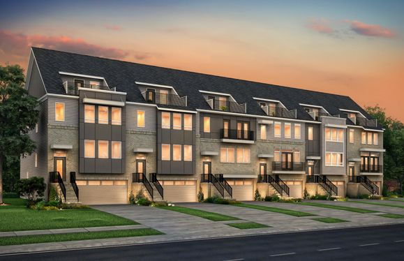 Devereaux:Devereaux Townhome Building Example