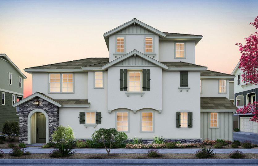 Plan 4:Plan 4 Cottage Exterior (B)