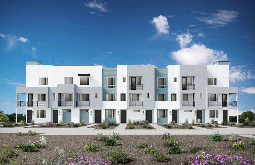 Haven Plan 1:Haven 8-Plex Building Exterior