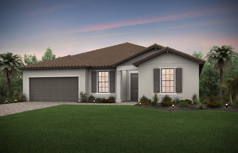 Dockside:Exterior FM1A with tile roof