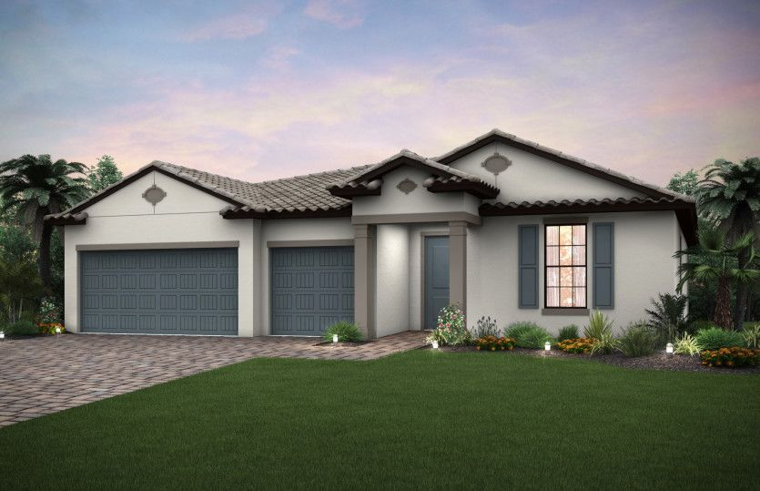Palm:Exterior FM1A with Tile Roof
