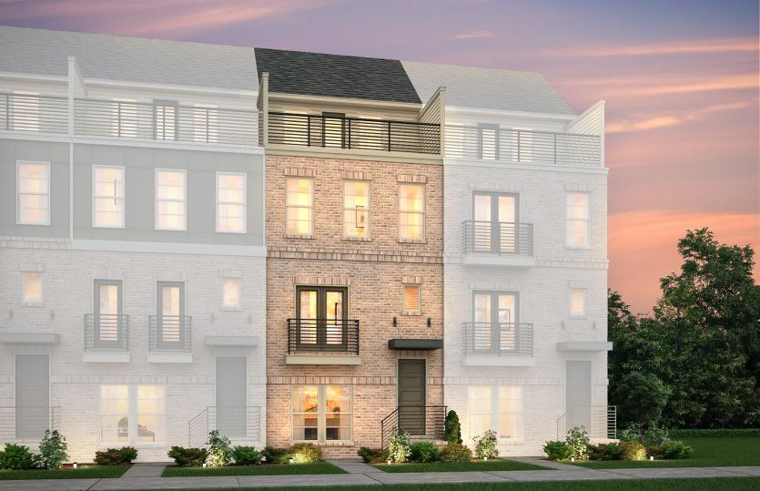 Exterior:Teravista Exterior 32 features brick, balcony and top floor terrace