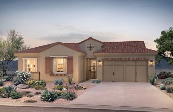 Exterior:Ravenna Exterior Home A For Sale in Goodyear, AZ