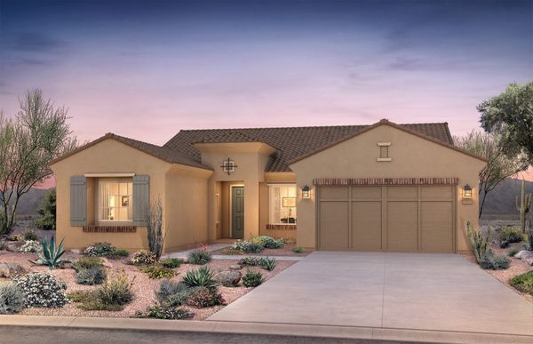 Salerno:Salerno Elevation A Single-Story Home For Sale in Goodyear, AZ