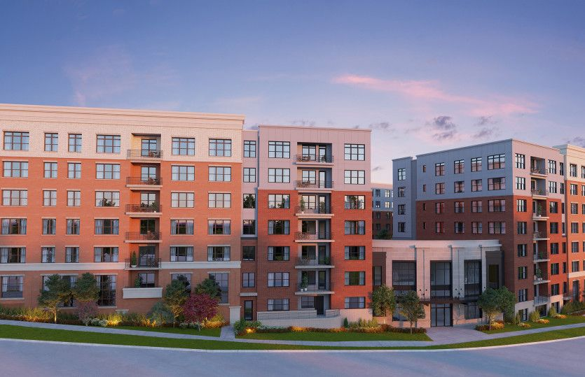 2.2G - Building 2:New luxury 1-level elevator condos in Fairfax just footsteps from the Vienna/Fairfax Metro!