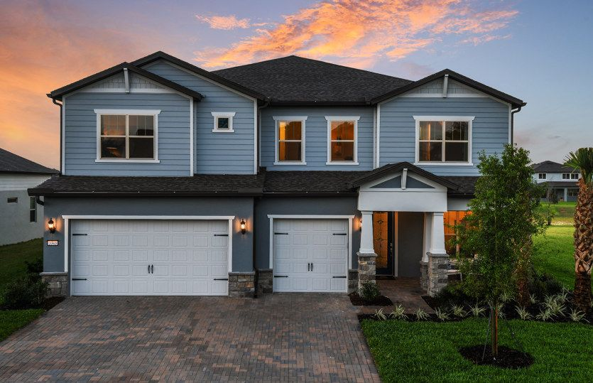 Mariner:New Construction Home For Sale at Retreat at Lake Brantley - Casabella Exterior