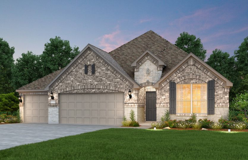 Sheldon - 3-Car Garage:Exterior F