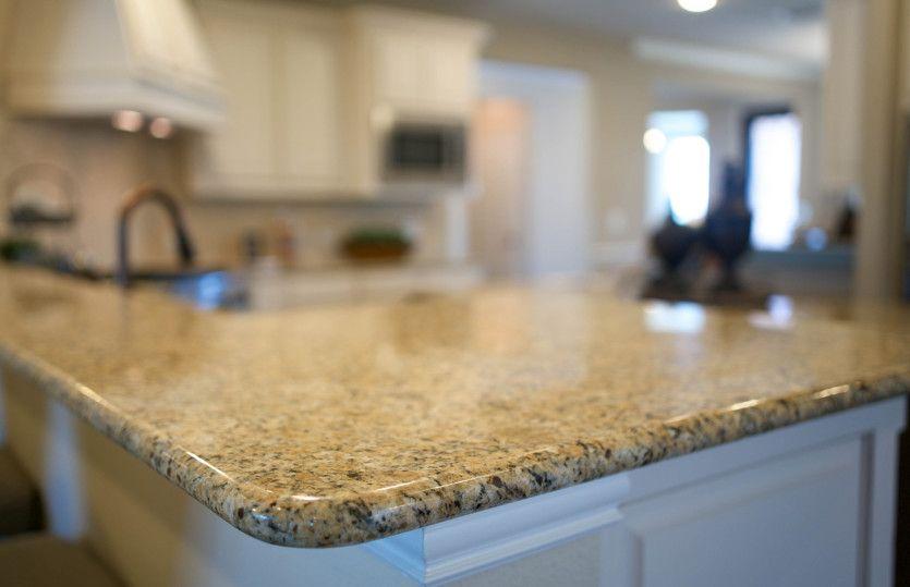 Arbordale:Island kitchen with granite countertop