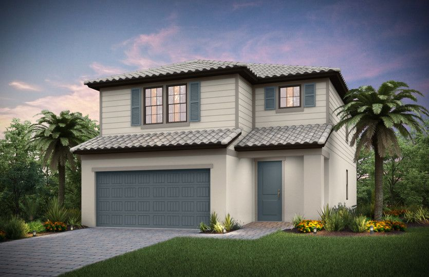 Seamist:Exterior FM2B with shutters