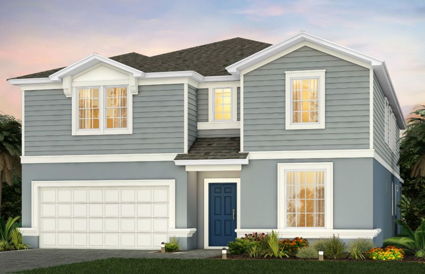 Clearwater:New Home for Sale in Kissimmee - Clearwater Exterior A