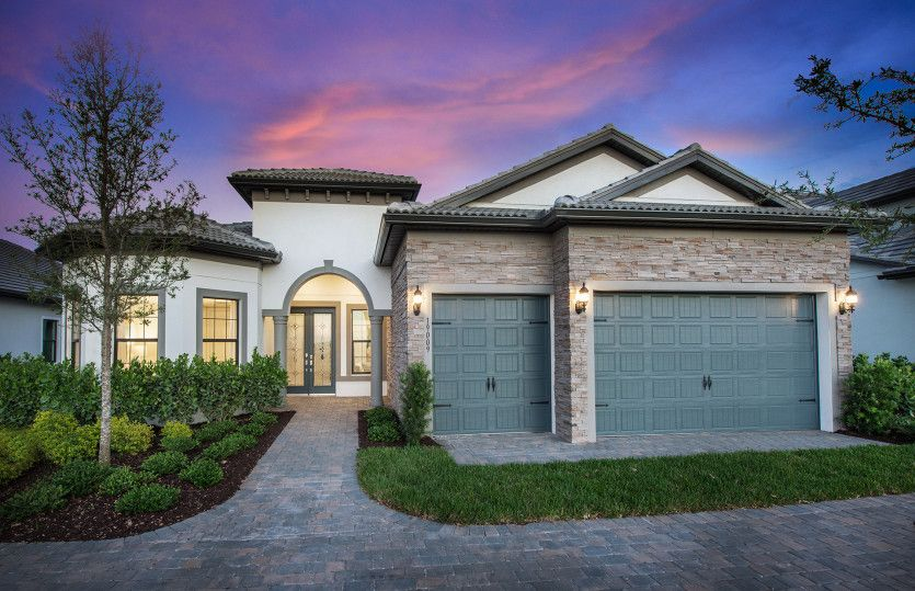 Pinnacle:Beautiful FM2B Exterior with Stone