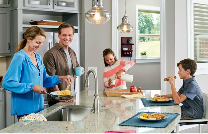 Boardwalk:Family Gathering in Kitchen