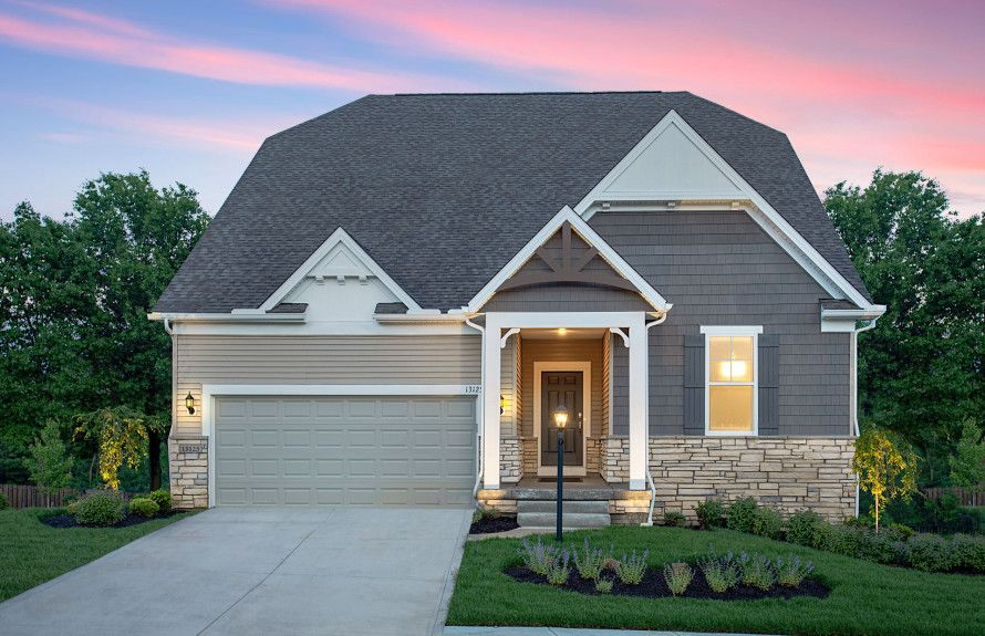 Craftsman Exteriors with Stone