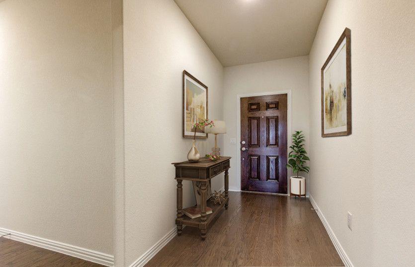 Northlake:Welcoming foyer entryway