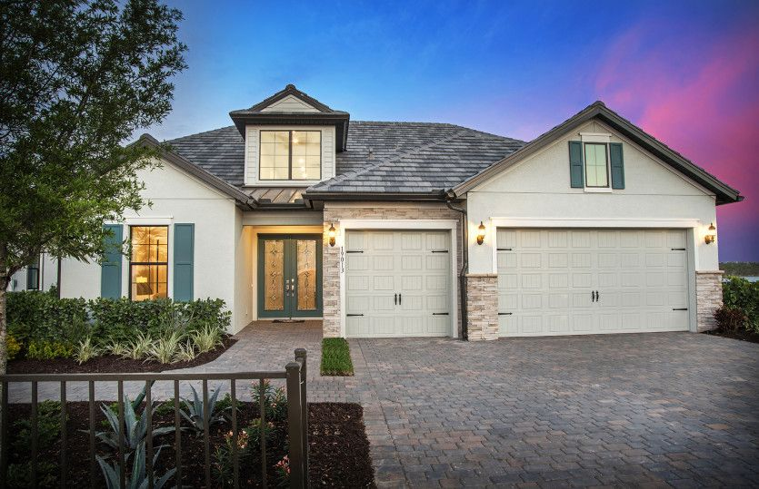 Stonewater:Exterior KW2C with Stone Details