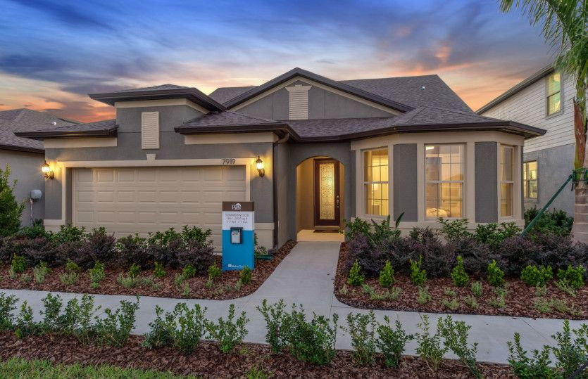 Summerwood Grand:Model Home Exterior