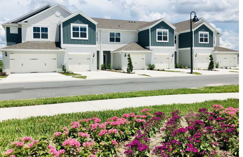 San Carlo II:Luxury New Construction Townhomes at Somerset Crossings by Pulte Homes