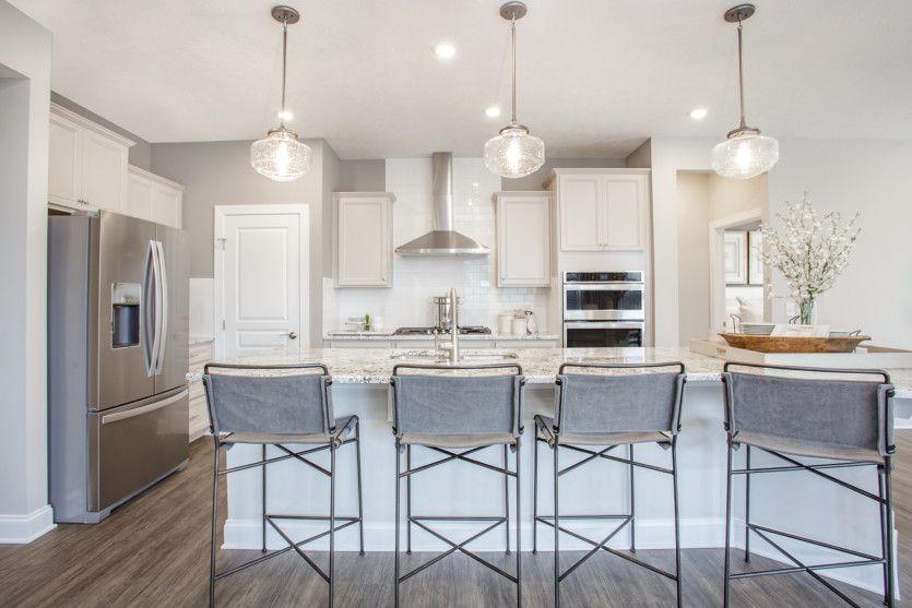 Ascend:Kitchen with Stylish Pendant Lighting
